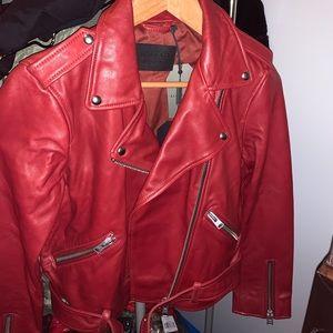 All saints Balfern Leather Biker Jacket